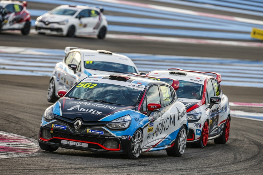 50 Clio Cup entries for French Grand Prix weekend
