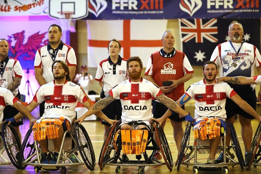 Dacia becomes principal partner of England Wheelchair Rugby League