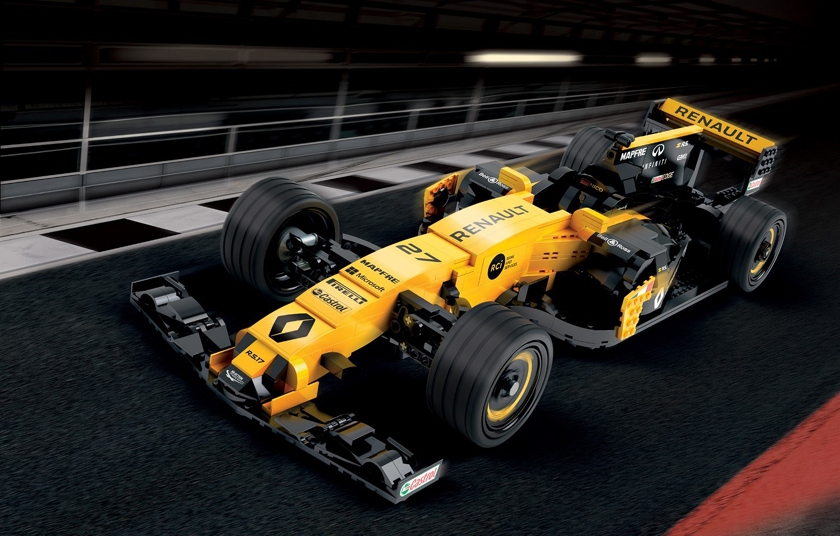 The passion-inspiring worlds of Renault Sport Formula One Team® and LEGO® France join forces at L'Atelier Renault