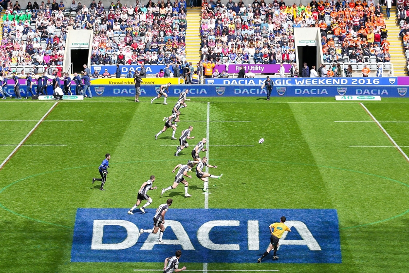 Dacia returns for Rugby League´s thrilling Dacia Magic Weekend
