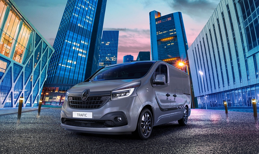Renault Trafic Black Edition: Added Style and Tech for new Model